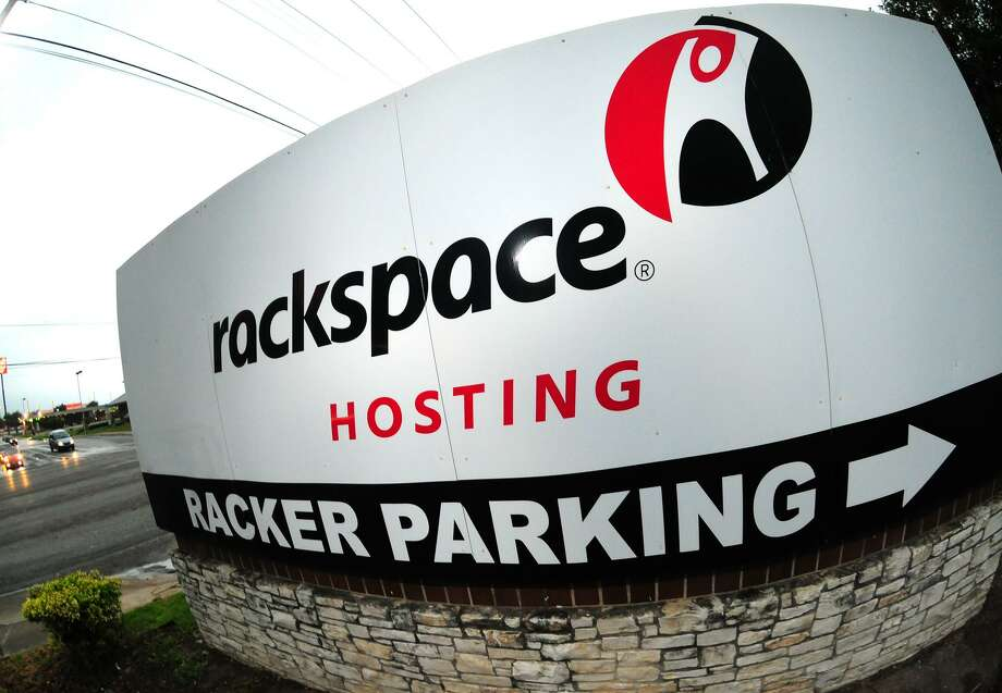 San Antonio-based Rackspace's headquarters sign is shown in this May 14, 2010 file photo. Rackspace has signed an agreement to acquire managed public cloud services provider Datapipe, Rackspace announced Monday. Photo: ROBIN JERSTAD /SPECIAL TO THE EXPRESS-NEWS / Robert Jerstad