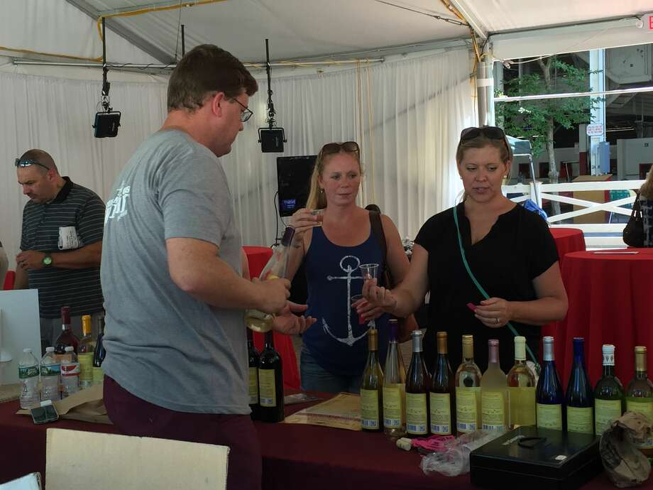 Were you Seen atTaste NY: Cider, Wine & SpiritsDay at the Saratoga Race Course in Saratoga Springs onThursday, Aug. 4, 2016? Photo: Brittany Harran / Ed Lewi Associates