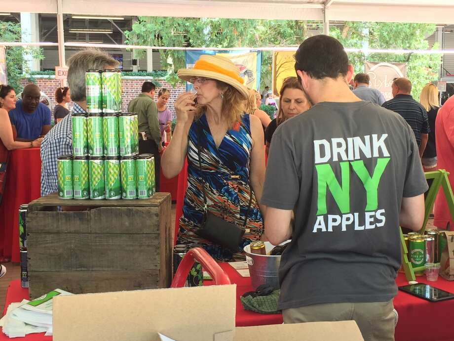 Were you Seen at Taste NY: Cider, Wine & Spirits Day at the Saratoga Race Course in Saratoga Springs on Thursday, Aug. 4, 2016? Photo: Brittany Harran / Ed Lewi Associates