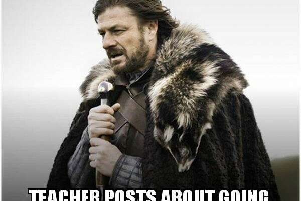 With teachers heading back to work we rustled up a collection of memes to help them cope with the beginning of the fall semester.