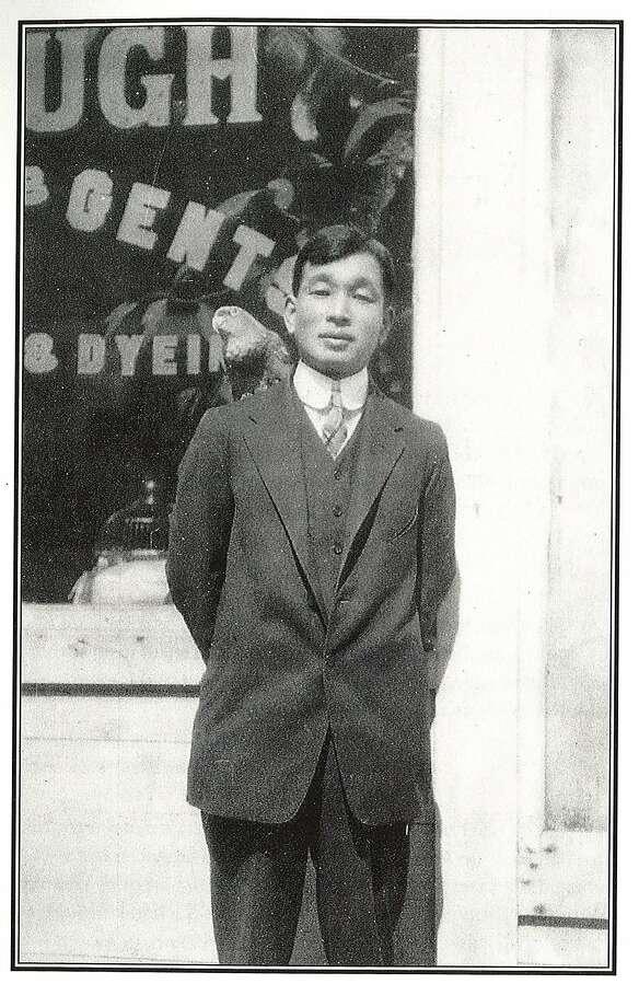 """A young Henry (Yoshitaki) Kiyama, author of """"Manga Yonin Shosei,"""" one of the earliest Japanese Manga. Photo: Courtesy Of Kiyama Family"""