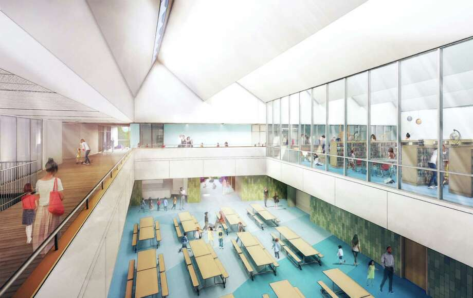 A rendering from Tai Soo Kim Partners, the project architects, of the interior of the new New Lebanon School building. Photo: Dcondon Contributed / Contributed Photo / Greenwich Time Contributed