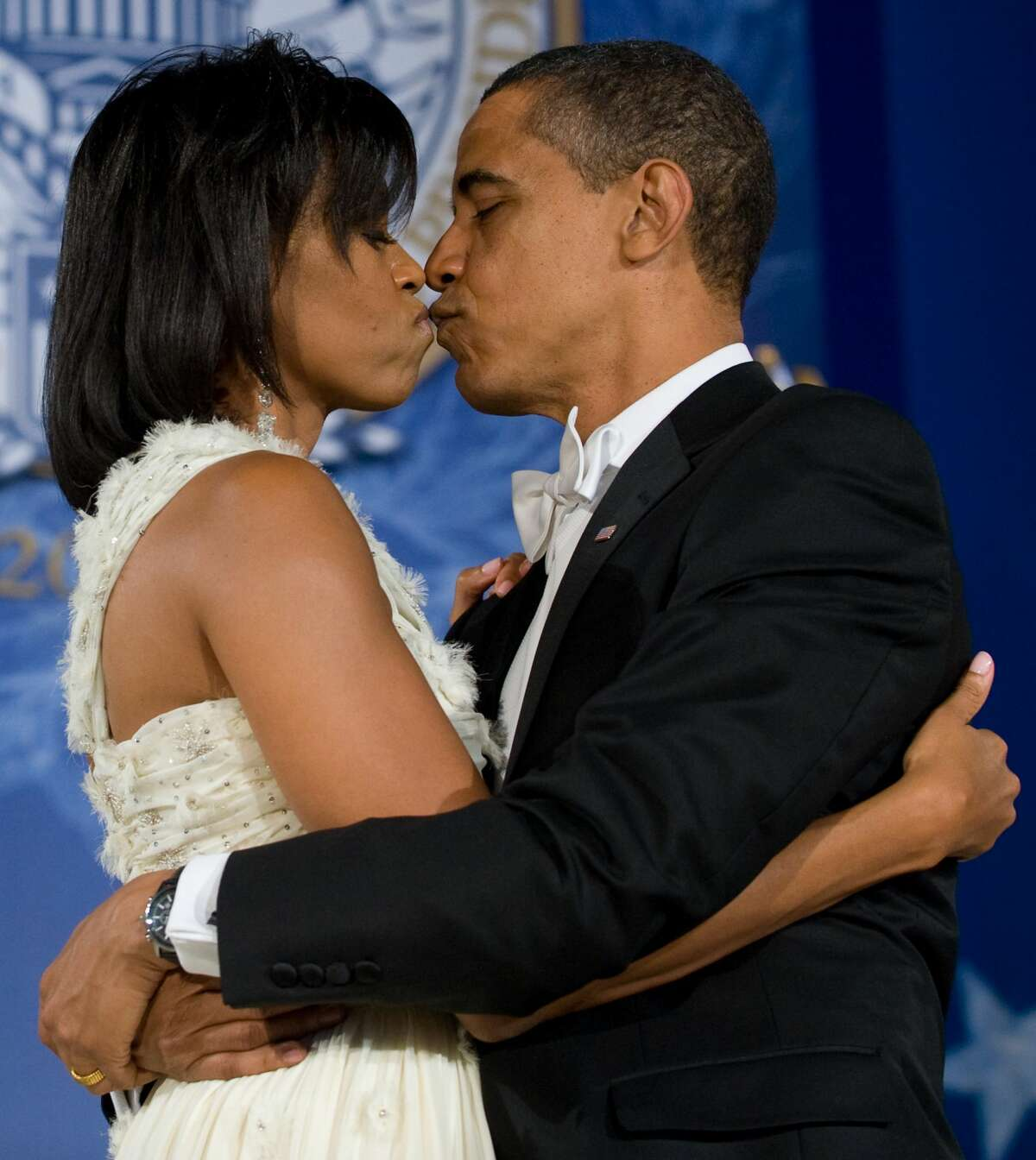 The Obamas have no problem showing affection for each other, even when the world is watching.Keep clicking to see photos of some of their sweetest moments over the years.