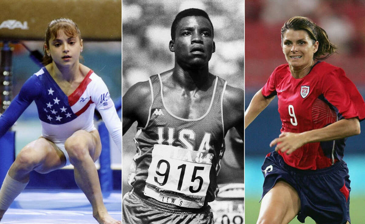 >>KEEP CLICKING TO TAKE A THEN-AND-NOW LOOK AT SOME OF THE BIGGEST STARS IN THE OLYMPICS.