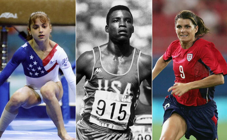 Stars of past Olympics, then and now - Beaumont Enterprise