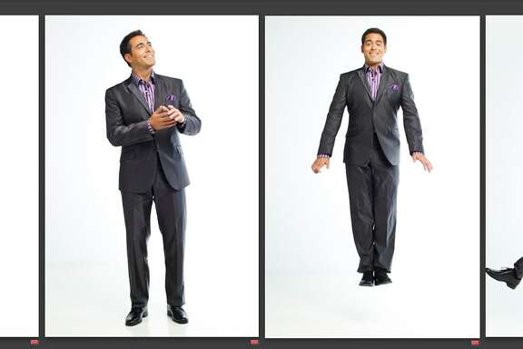 ********DO NOT PRINT.  LOW RES MONTAGE FOR SUSAN BARBER*******  Owen Conflenti, morning news anchor for KPRC, is photographed for SAM magazine in the Houston Chronicle Photo Studio, Tuesday, July 19, 2011, in Houston.   ( Michael Paulsen / Houston Chronicle )