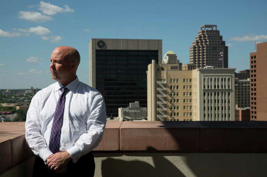 Bexar County Precinct 3 Commissioner Kevin Wolff stands for a portrait outside his office in San Antonio, Texas on August 3, 2016. Photo: Carolyn Van Houten / Carolyn Van Houten / 2016 San Antonio Express-News