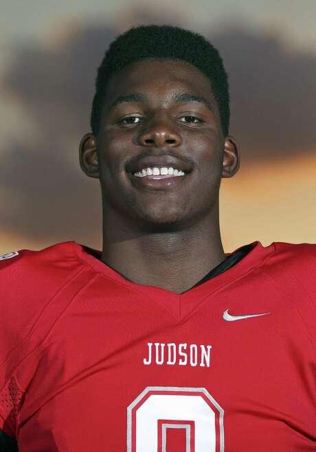 Judson defensive end Alton Robinson poses on Aug. 17, 2015 at Heroes Stadium. Photo: Edward A. Ornelas /San Antonio Express-News / © 2015 San Antonio Express-News