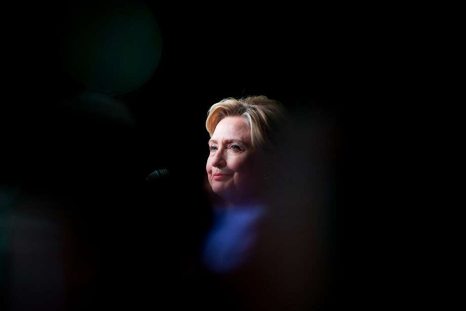 Democratic presidential candidate Hillary Clinton campaigns in Chicago in June. Photo: Andrew Harnik, AP