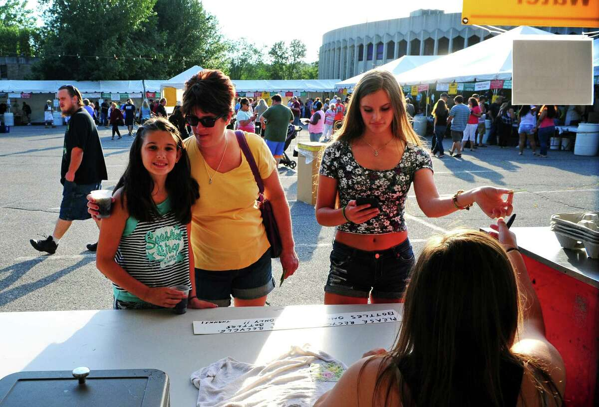Festa! 2016: Holy Rosary Church's 49th Annual Ansonia Italian Festival on the church grounds in Ansonia, Conn., on Thursday Aug. 4, 2016. The festival runs through Saturday Aug. 6 from 5 p.m. to 10 p.m. The festival features Italian food and deserts, live music each night and carnival rides for the kids.