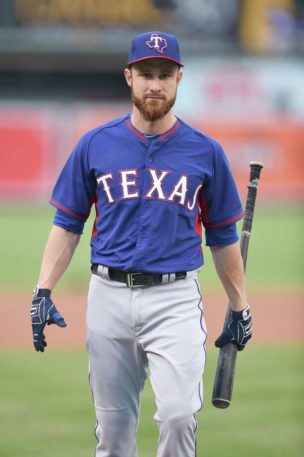 Catcher Jonathan Lucroy was given a day out of the lineup Friday, his first in four days since joining the team. Photo: Mitchell Layton / 2016 Getty Images