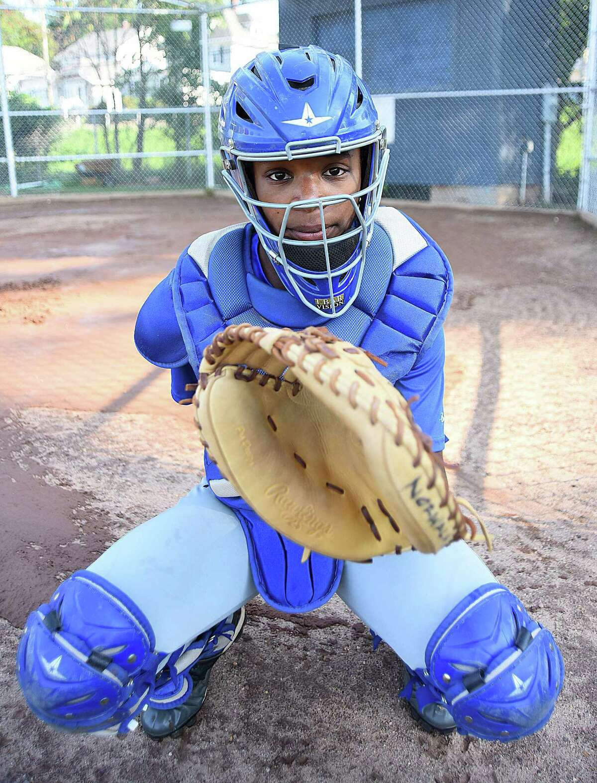 Norwalk Cal Ripken 10-year-old All-Star catcher Vicki Ward has been a key player in her team's run to the 2016 Cal Ripken World Series in Palm Spings Garden, Fla. Norwalk opens the tournament on Saturday.