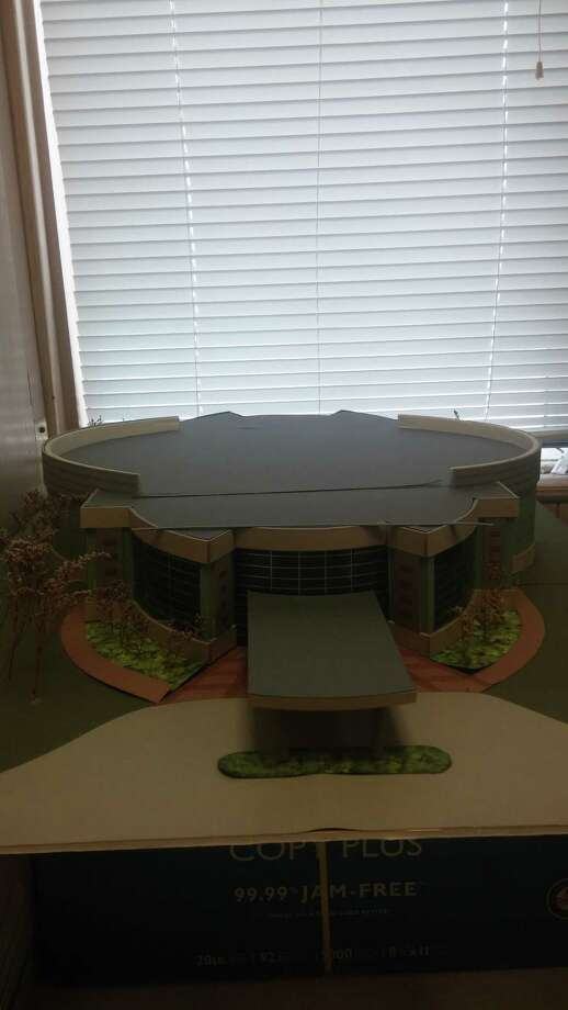Model of the new sanctuary for Ebenezer Missionary Baptist Church