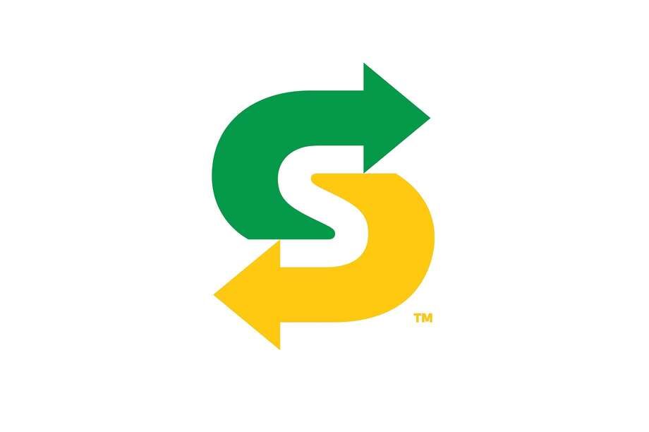 """""""The symbol is a dynamic monogram using the Subway restaurants trademark 'S' and arrows that captures the essence of the logo in a smaller footprint."""""""
