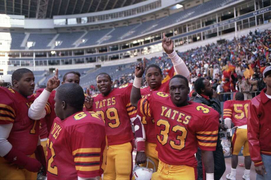 PHOTOS: Who is the greatest Texas high school football team of all-time: Yates or Dallas Carter?The 1988 Dallas Carter High School football team is receiving some notoriety this week as ESPN's 30 for 30 about the team debuts Thursday. There's some debate as to whether that team is better than the 1985 Yates team that steamrolled opponents on its way to a state championship.Browse through the photos above for a comparison between the 1985 Yates team and the 1988 Dallas Carter team. Photo: Steve Campbell, HC Staff / Houston Chronicle