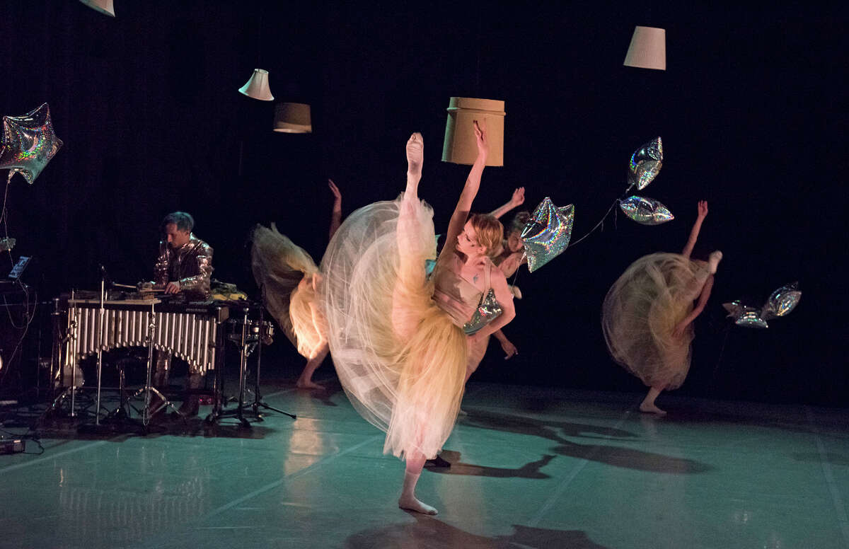 Andy Meyerson of the Living Earth Show and Post:Ballet's Rachel Coats in the premiere of