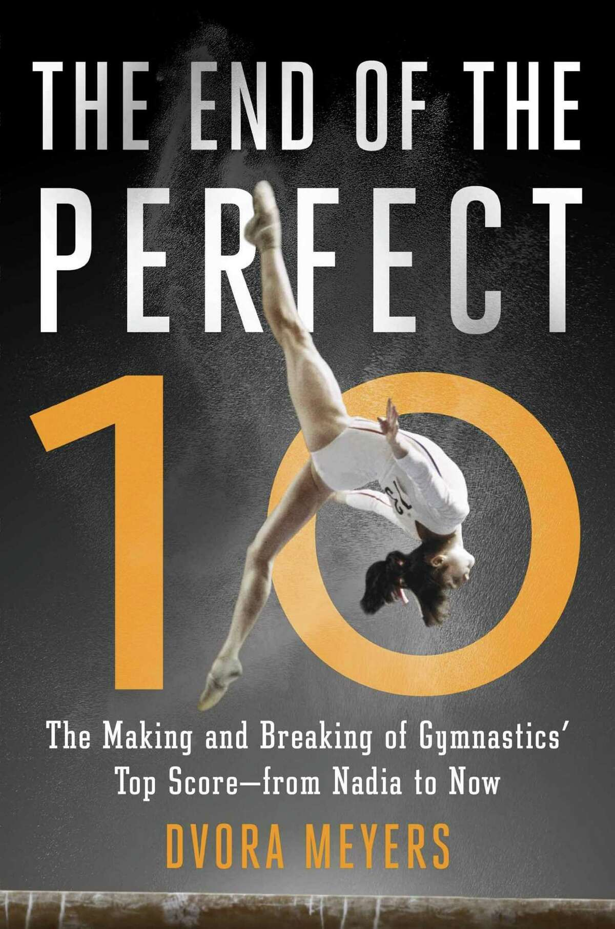 """The End of the Perfect 10 By Dvora Meyers After controversy over scoring in the 2004 Olympics, elite gymnastics abandoned the 10-point scale and switched to an open-ended scoring system. But even if gymnasts can no longer strive for a """"perfect"""" 10.0 score, the competition is getting more difficult and more elite. This book examines the evolution of women's gymnastics and looks ahead to Olympic contests in the future."""
