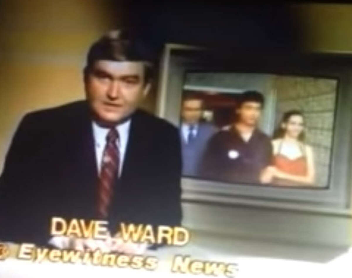 In 1981, Ward does a promo spot about a Chinese ballet dancer being released after a standoff at the Chinese consulate, tug boat captain, a bill to raise the drinking age to 19, and a new convention center was coming to Houston.