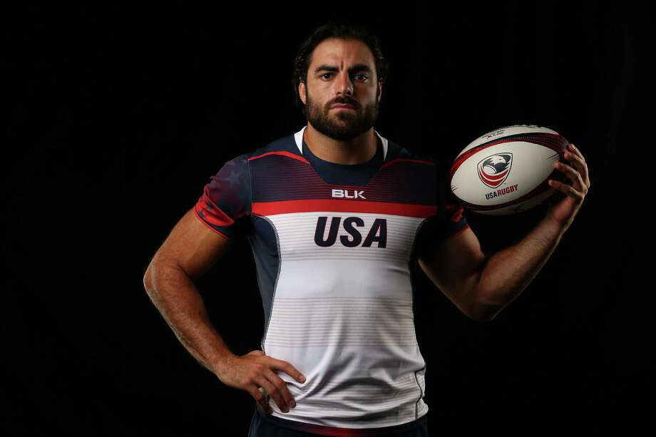CHULA VISTA, CA - JULY 21:  Nate Ebner of the USA Rugby Mens Sevens Team poses for a portrait at the Olympic Training Center on July 21, 2016 in Chula Vista, California. Photo: Sean M. Haffey, Getty Images / 2016 Getty Images