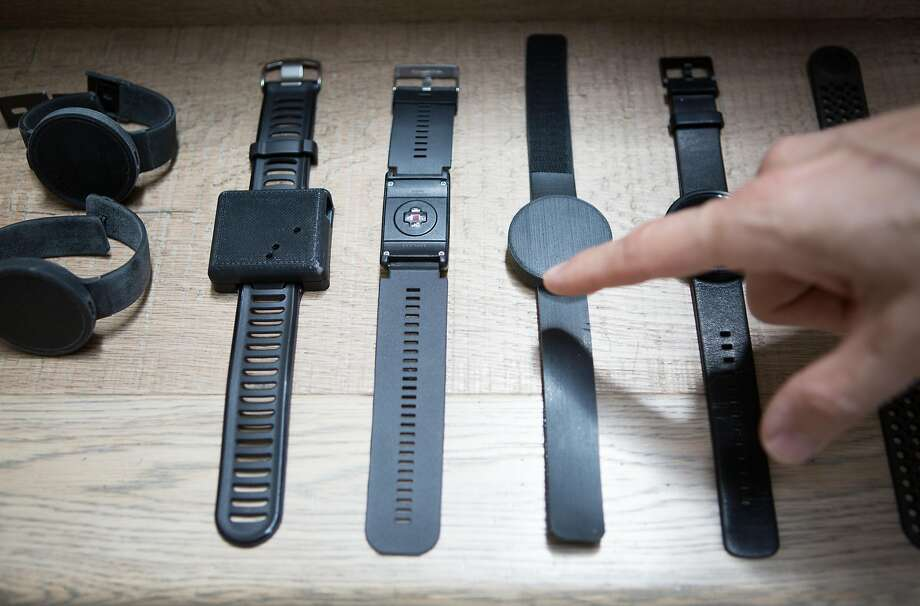 Prototypes are displayed this month at the iBeat office in San Francisco. Photo: Amy Osborne, Special To The Chronicle
