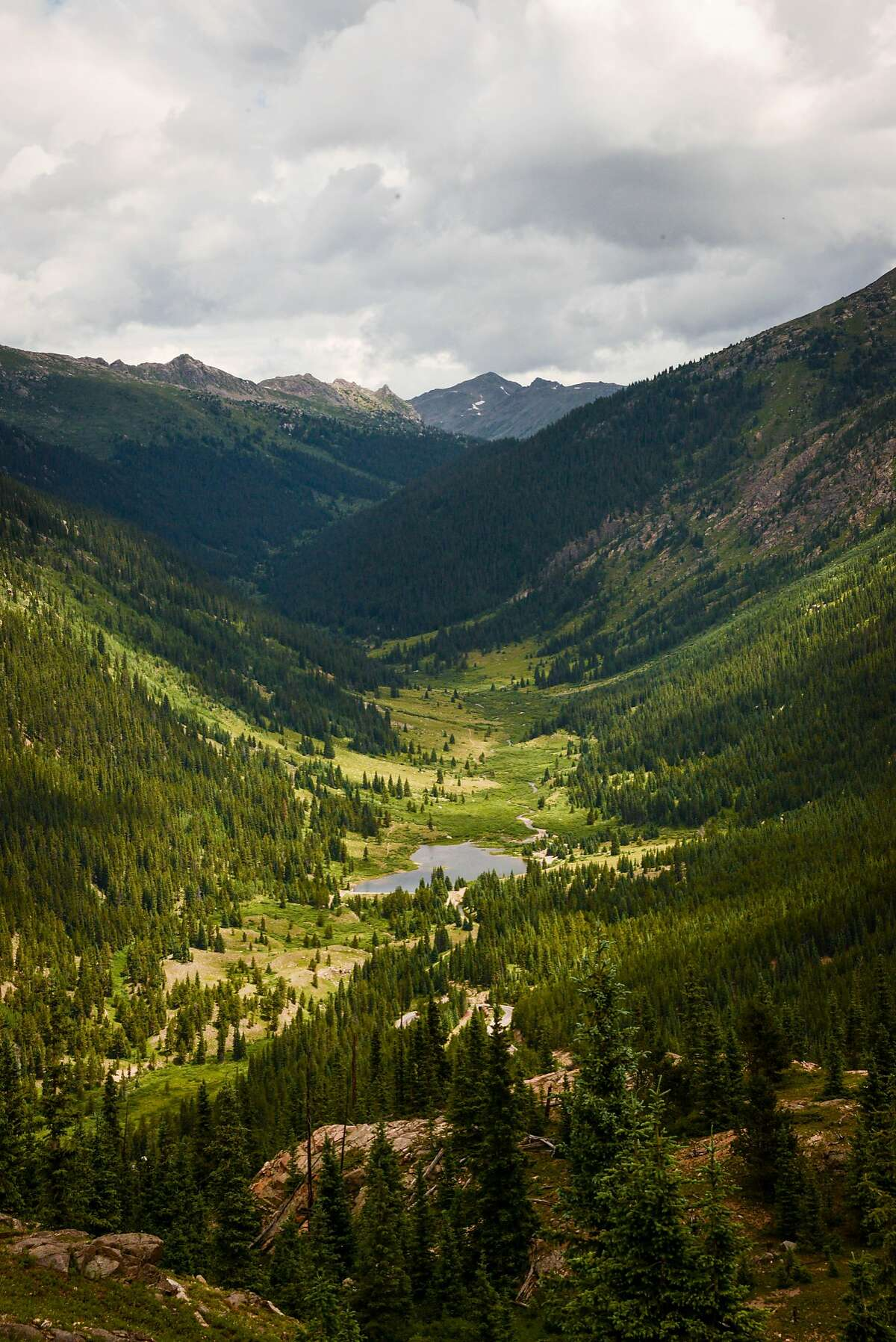 The challenge and enjoyment of trail is part of the allure to hikers on a high-altitude vacation.