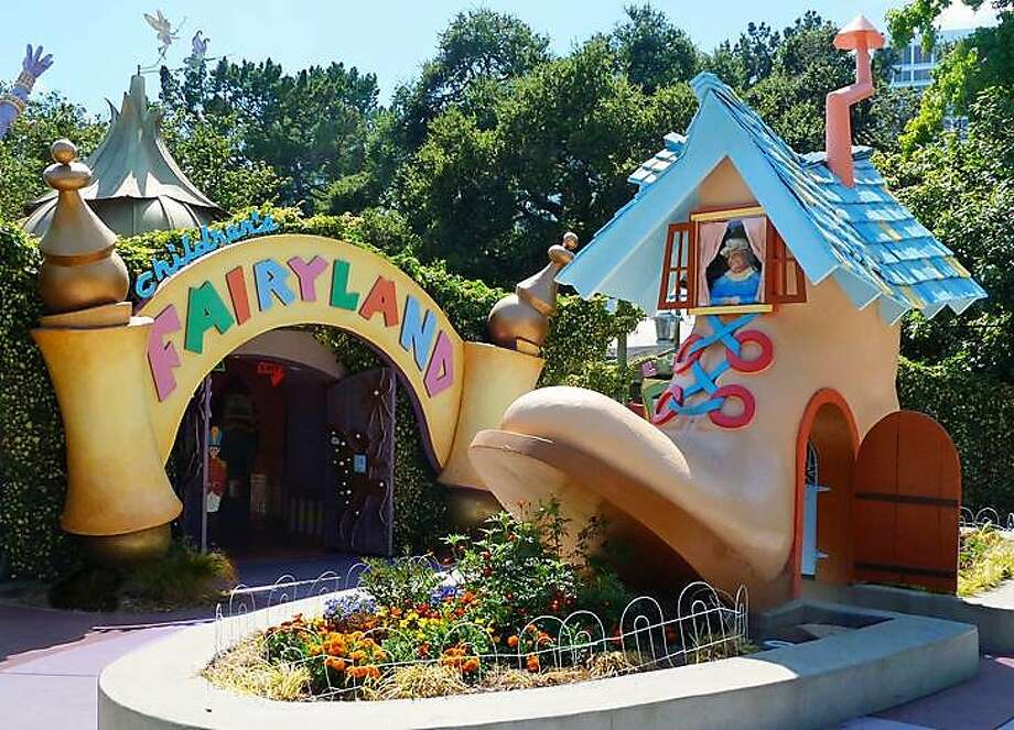 The entrance to Children's Fairyland in Oakland. Photo: Courtesy Children's Fairyland