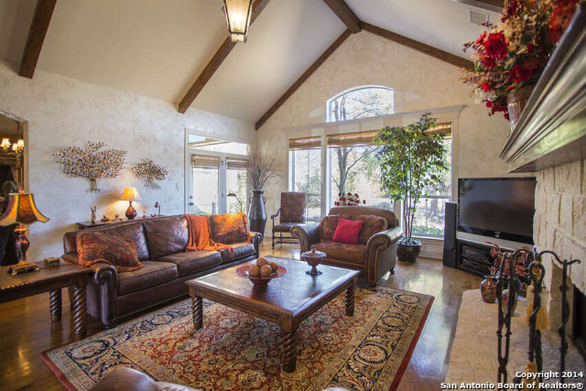 1. 217 Santa Fe Trail: $535,0003 beds / 2.5 baths / 3,487 square feetFeatures: Located on a 3.38-acre lot, courtyard, beamed ceiling in living room, upstairs game room, flagstone patios and porch