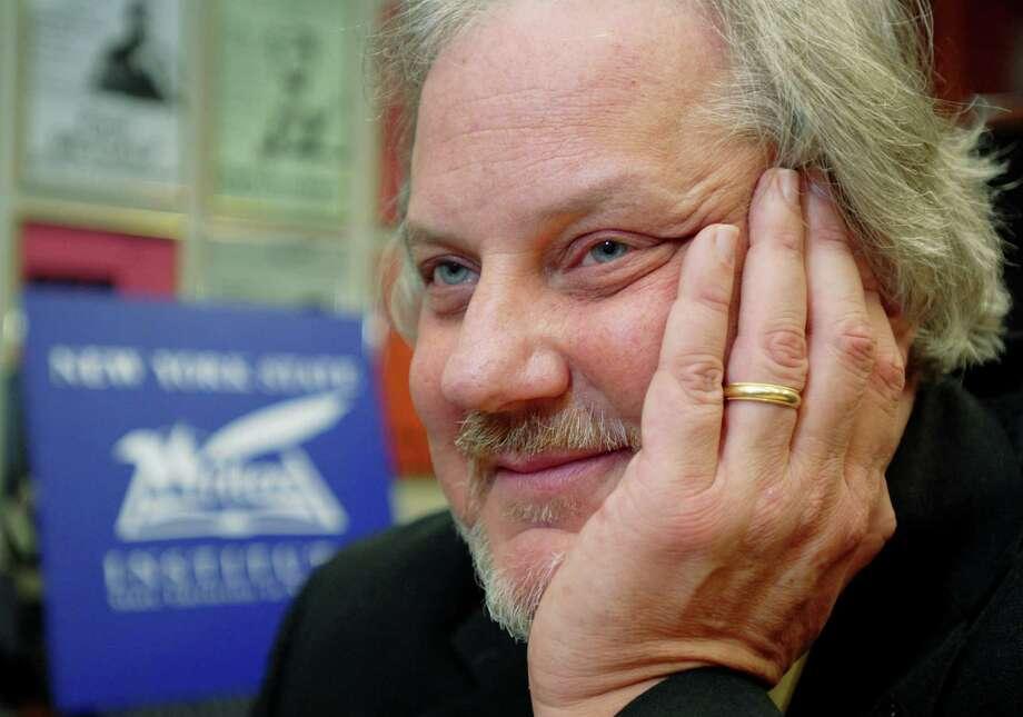 Donald Faulkner, cq., Director of the New York State Writers Institute. (Luanne M. Ferris / Times Union) Photo: LUANNE M. FERRIS / 00005484A