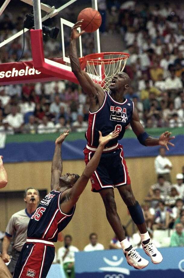 Michael Jordan, Bulls Photo: Susan Ragan, STF / 1992 AP