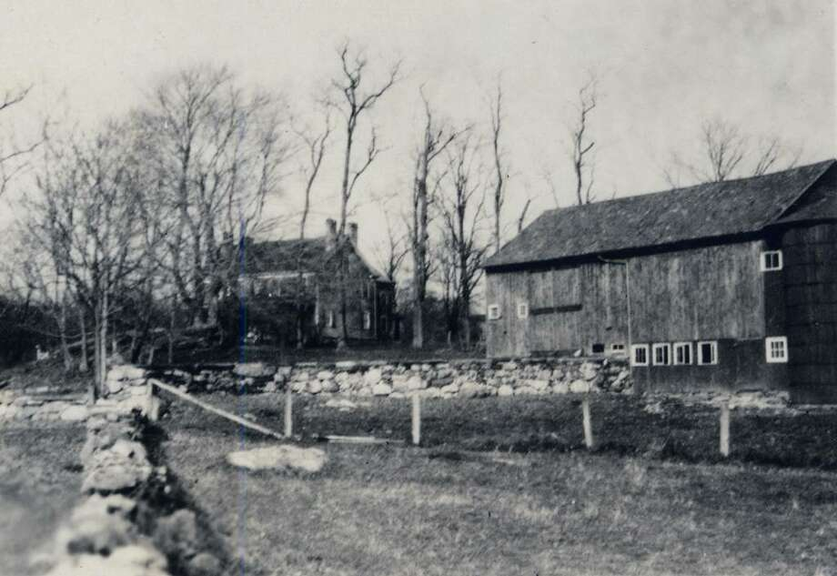 The barn in 1938, when the Stanwich Road property was owned  by the Minor family. Photo: The Historical Society Of The Town Of Greenwich, Contributed Photo / Greenwich Time Contributed