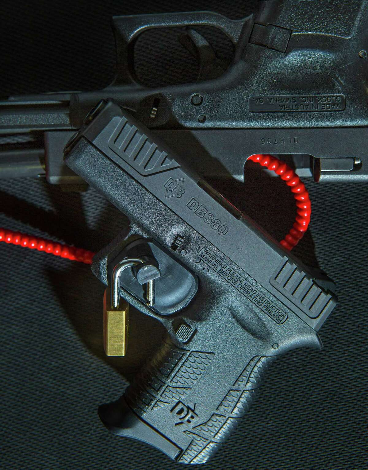 Gun ownership in Texas is on the rise, and first-time owners may not have had experience in the safe storage of guns. While owning a gun is a personal decision, storing guns responsibly is a public safety issue. All new hand guns sold in the U.S. are required to come with a gun lock. (Mark Mulligan / Houston Chronicle )