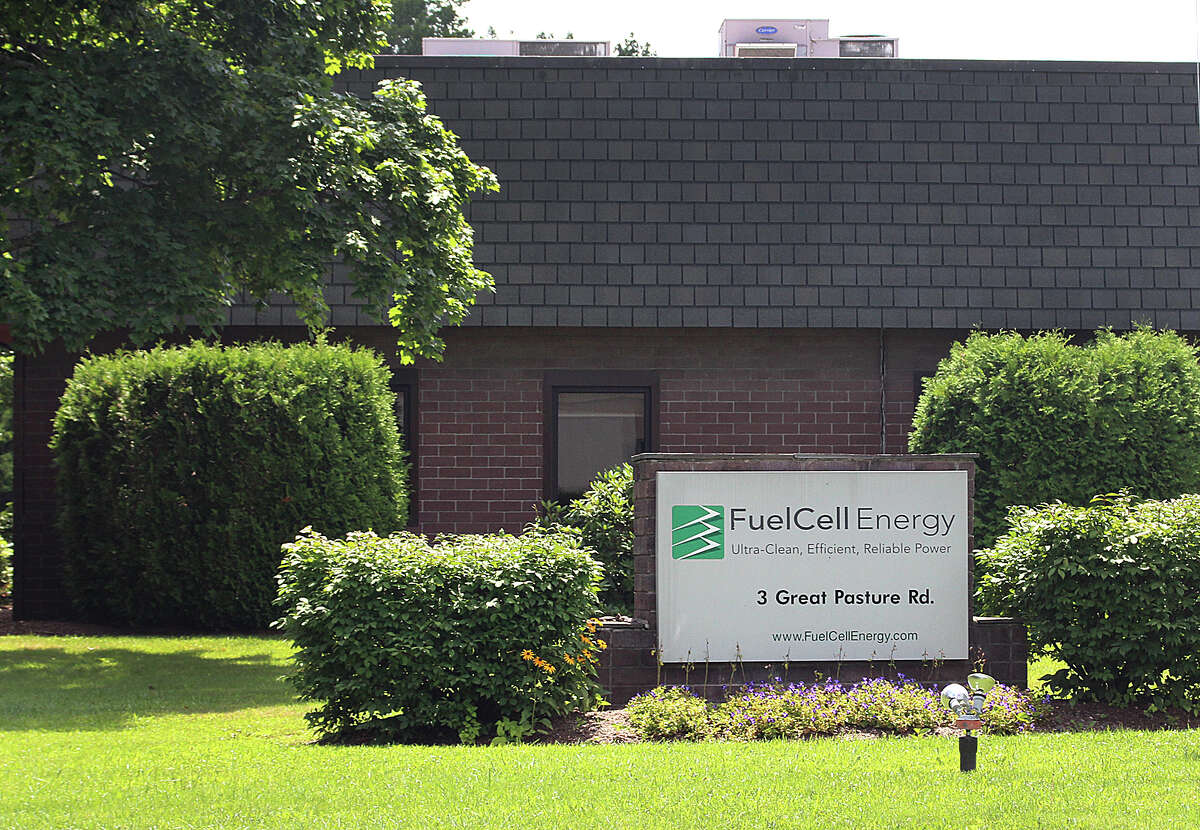 FuelCell Energy's offices on Great Pasture Road in Danbury. FuelCell made an annual list of fast-growing technology companies.