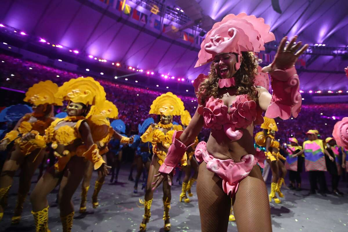 The Opening Ceremony of the Rio 2016 Olympic Games at Maracana Stadium on August 5, 2016 in Rio de Janeiro, Brazil.