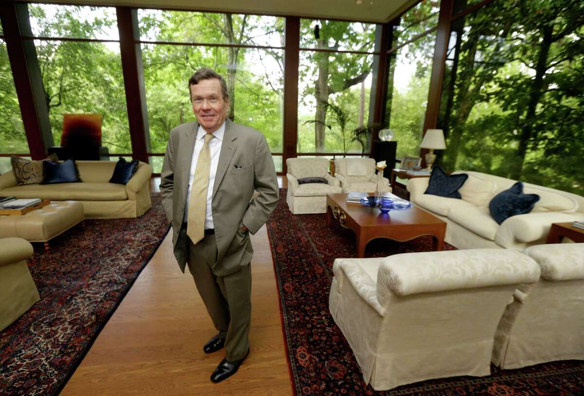 Richard Mithoff is shown in his River Oaks' home Tuesday, July 26, 2016, in Houston. ( Melissa Phillip / Houston Chronicle )