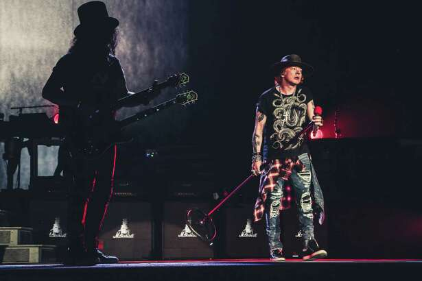 Guns N' Roses Not In This Lifetime tour presented by Live Nation at NRG Stadium.