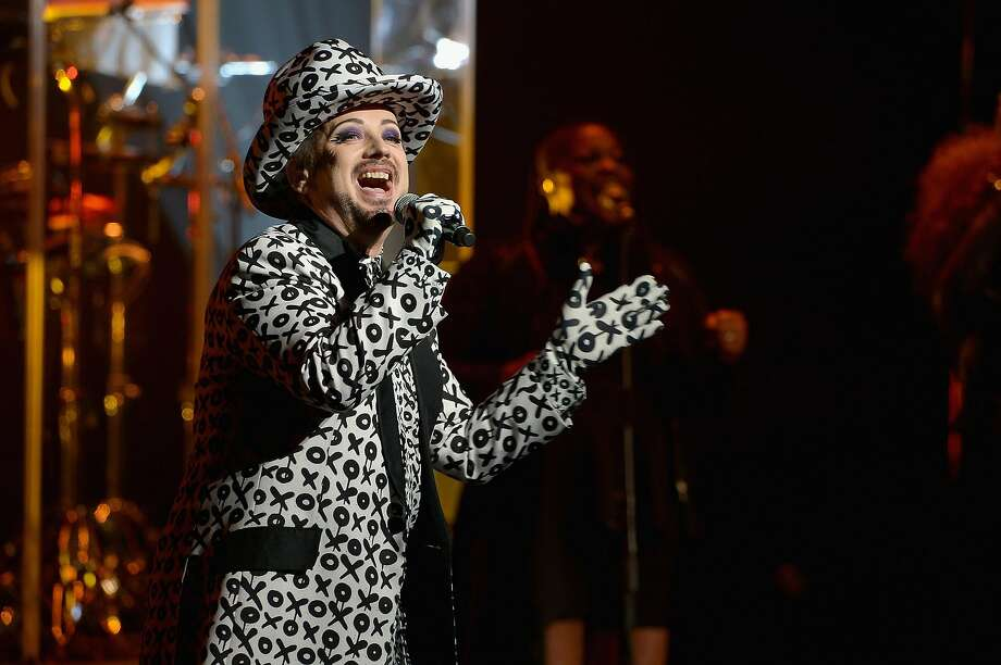 FORT LAUDERDALE, FL - JULY 08:  Singer Boy George of Culture Club  performs at Broward Center For The Performing Arts on July 8, 2016 in Fort Lauderdale, Florida.  (Photo by Gustavo Caballero/Getty Images) Photo: Gustavo Caballero, Getty Images