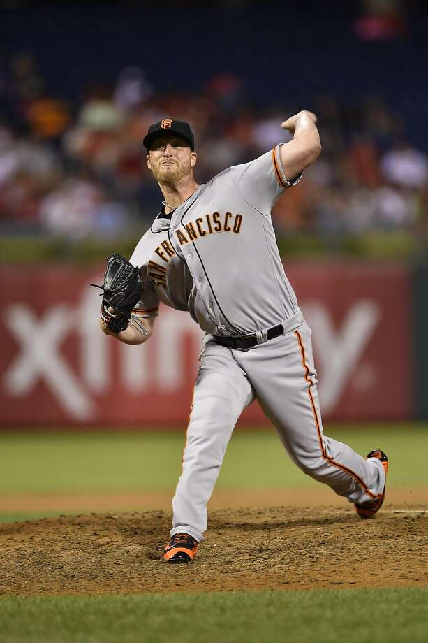 Will Smith will be tough to replace in the Giants bullpen. Photo: Derik Hamilton, Associated Press
