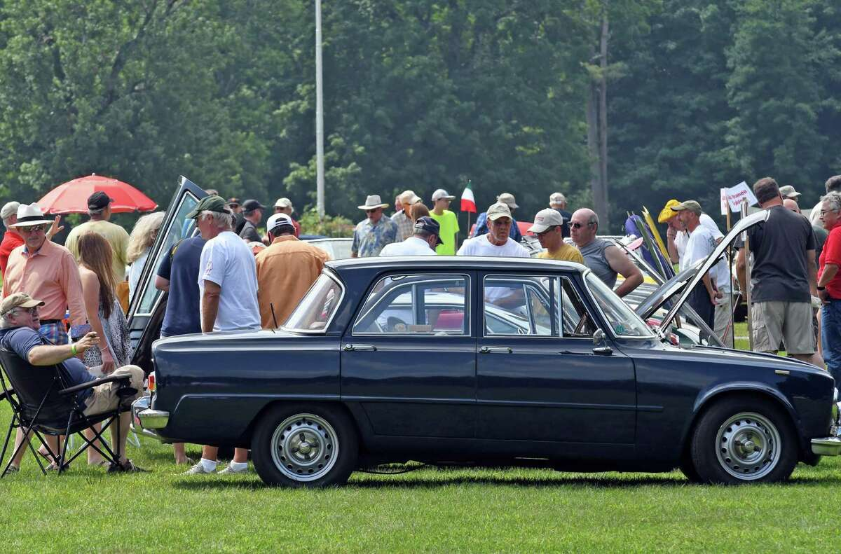 The Hemmings Sports & Exotics Car Show at the Saratoga Auto Museum on Saturday Aug. 6, 2016 in Saratoga Springs, N.Y. (Michael P. Farrell/Times Union)