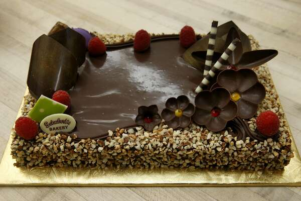 3of13An Opera Cake At Schuberts Bakery On Clement Street In SFPhoto Paul Chinn The Chronicle