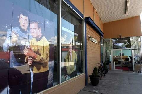 Replica of Star Trek's U S S  Enterprise boldly goes into