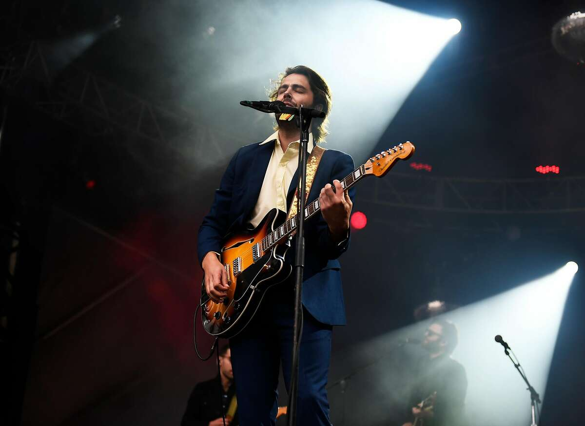 Ben Schneider of Lord Huron performs at the Outside Lands Music Festival at Golden Gate Park on August 6, 2016 in San Francisco, California.