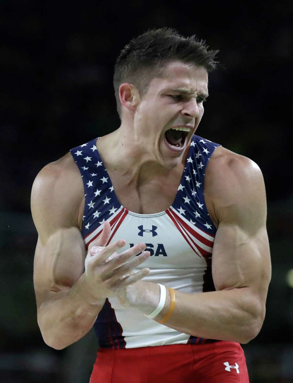 U.S. captain Chris Brooks did not make any event finals, but he did qualify for the all-around final and helped the Americans reach the team final.