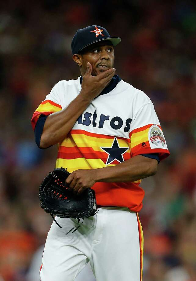 Astros reliever Tony Sipp says doesn't have a problem with NFL quarterback Colin Kaepernick and others voicing their opinions on social issues. Photo: Karen Warren, Houston Chronicle / © 2016 Houston Chronicle