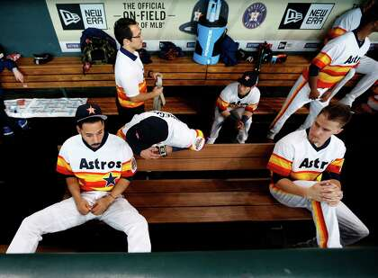 8982e3c90 The Astros have had their of iconic uniforms during their history, perhaps  none more so than the rainbows they wore for a 12-season stretch from 1975  to ...