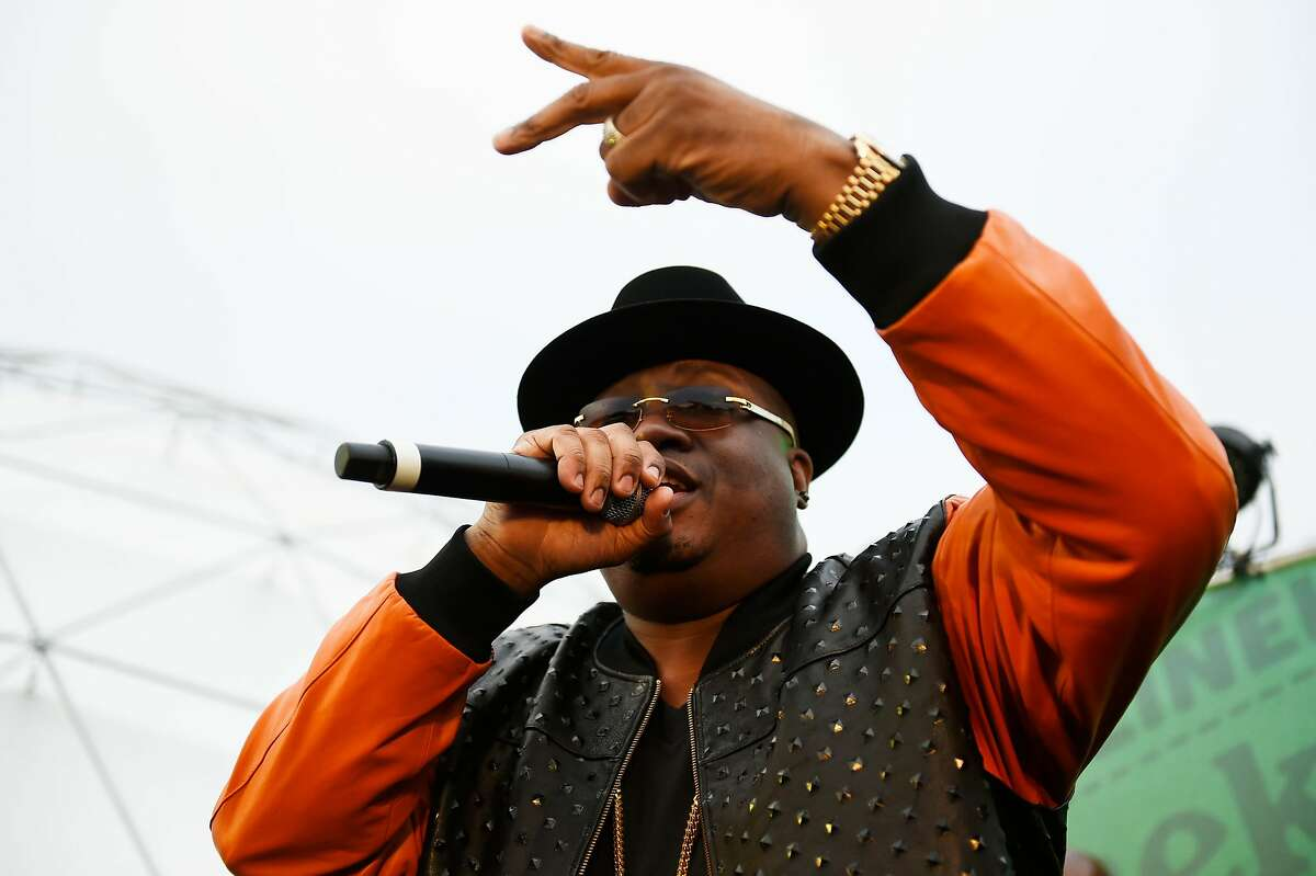 E-40 and Warren G reform at a select show at the Outside Lands Music Festival at Golden Gate Park on August 6, 2016 in San Francisco, California.
