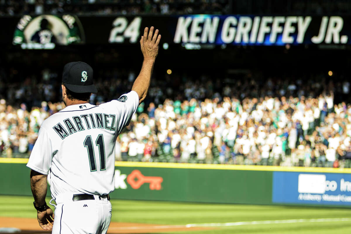 Former Mariners designated hitter Edgar Martinez is inching closer to a spot in the National Baseball Hall of Fame. Check out the following gallery for photos documenting his more than two decades in Seattle.
