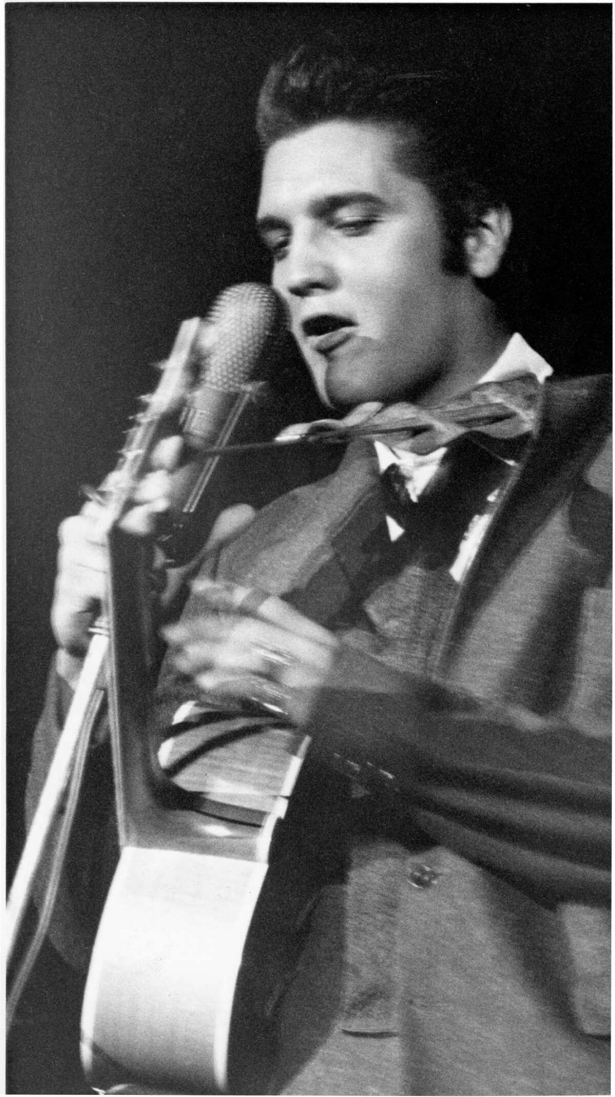 Original Elvis Back in 1956, there was one Elvis. He was dangerous and made fathers want to lock up their daughters. (It was the '50s.)