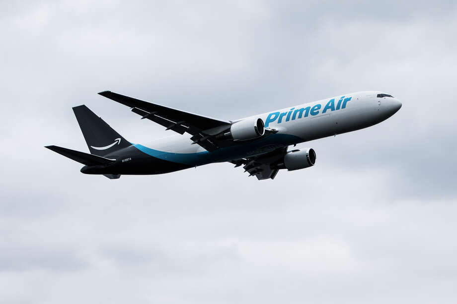 In a new survey, pilots for carriers contracted with Amazon's Prime Air and DHL said staffing shortages will continue to cause shipping problems, among other issues.Keep clicking through to see how people have reacted to Amazon's new Key program. Photo: LACEY YOUNG/SEATTLEPI.COM