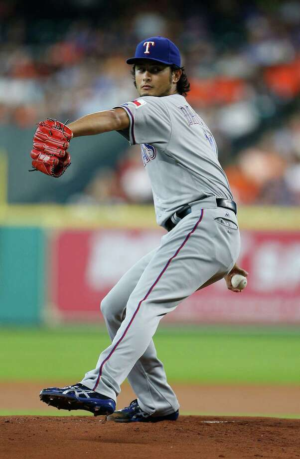 A Texas Rangers pitcher could be impacted by Donald Trump's immigration ban.The Texas Rangers are checking to make sure President Donald Trump's ban on immigrants from Iran and six other countries doesn't impact pitcher Yu Darvish. Darvish is half-Iranian, half-Japanese, but claims Japanese nationality.>>>Click through the gallery to see reactions to Trump's immigration ban and highlights of the immigration plan he campaigned on. Photo: Karen Warren, Houston Chronicle / © 2016 Houston Chronicle