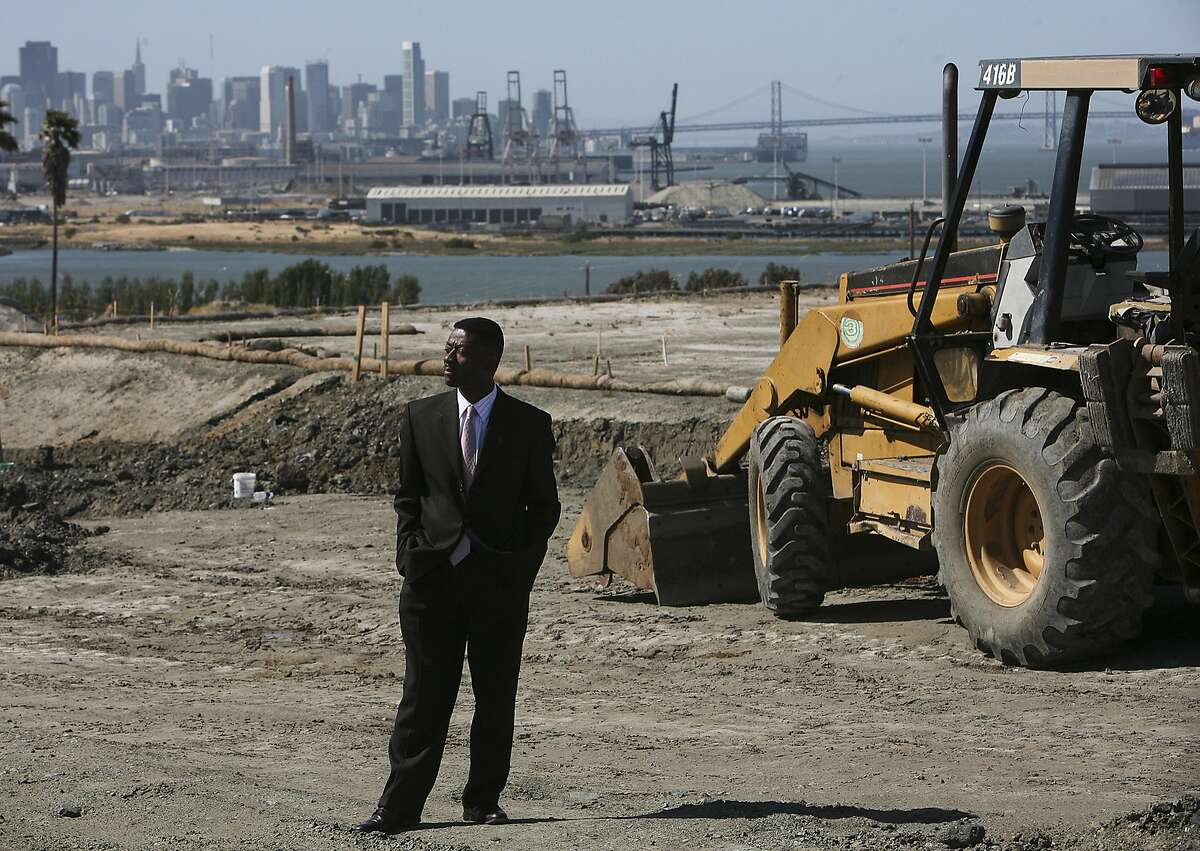 FILE -- Kofi Bonner, then a regional vice president for Lennar Corporation, at Hunters Point in San Francisco, May 22, 2008. The Brookings Institution named him a senior fellow in 2014. Think tanks are seen as independent, but their scholars often push donors� agendas, amplifying a culture of corporate influence in Washington. (Jim Wilson/The New York Times)